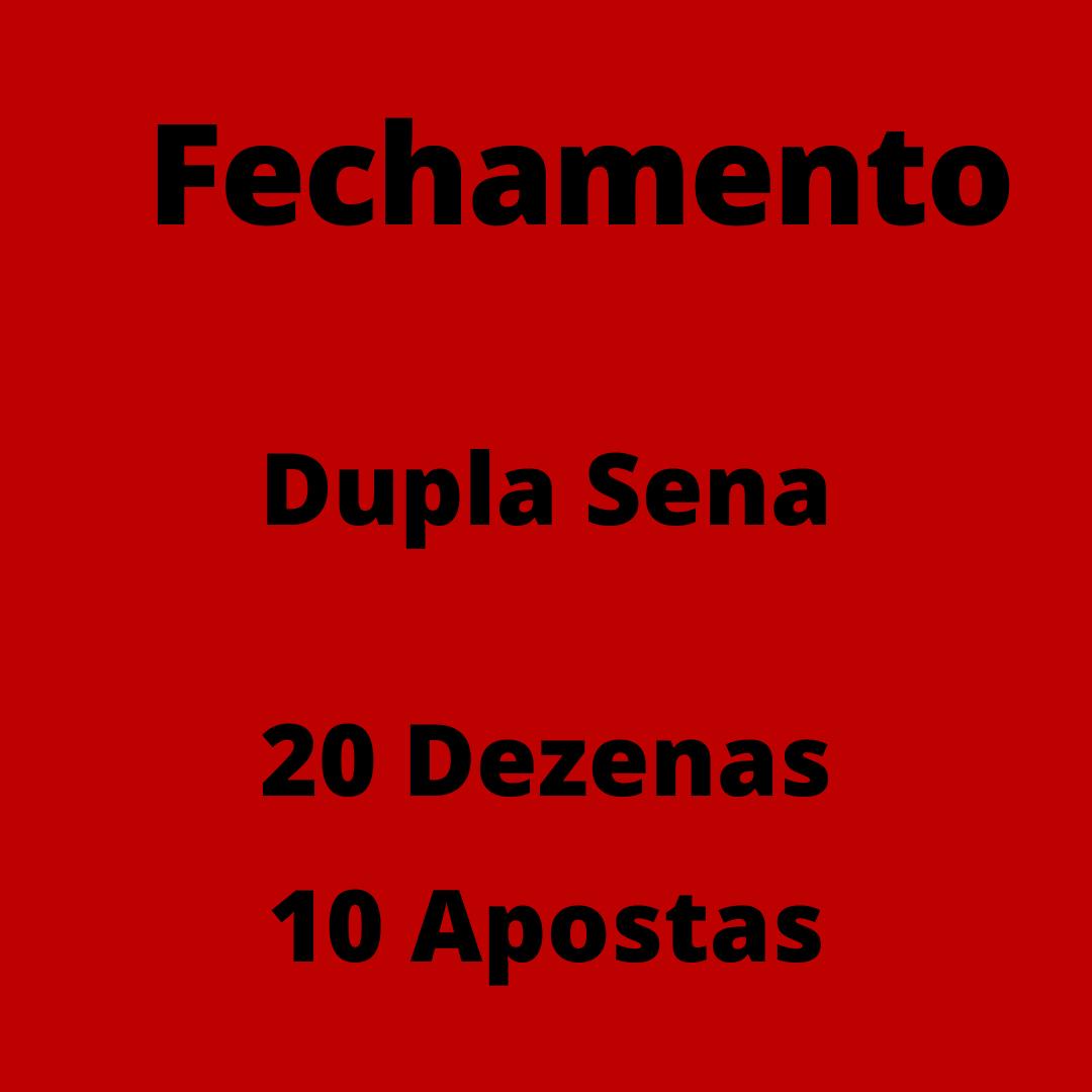 Dupla Sena 20 dezenas