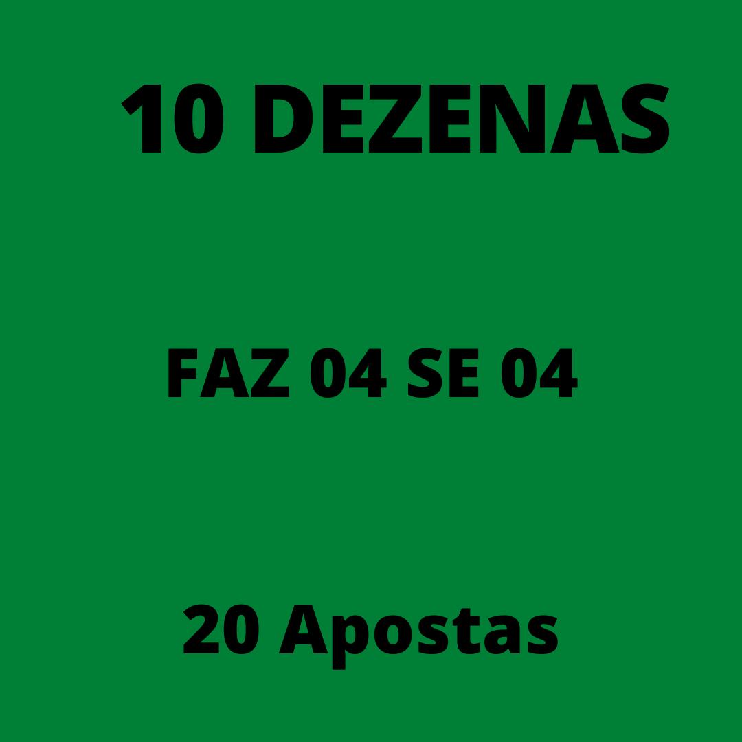 Mega Sena 10 dezenas